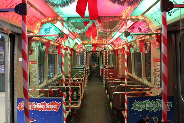 Chicago Transit Authority's Magical Holiday Train - The Travel ...